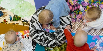 Bring the Baby Art Tour & Tummy Time