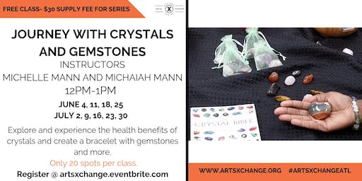 Journey with Crystals and Gemstones