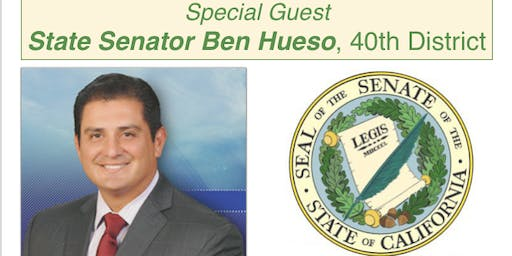 Member Breakfast: State Senator Ben Hueso, 40th District