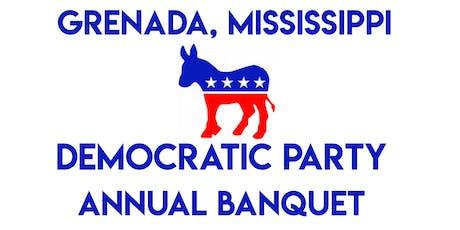 Grenada MS Democratic Party Annual Banquet tickets