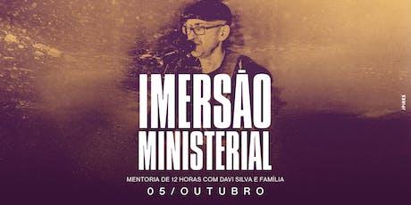 Imersão Ministerial Carmo/RJ ingressos