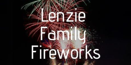 Lenzie Family Fireworks 2019 tickets