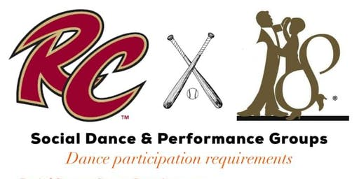 Studio 18 Open Dance Team for Sacramento Rivercats
