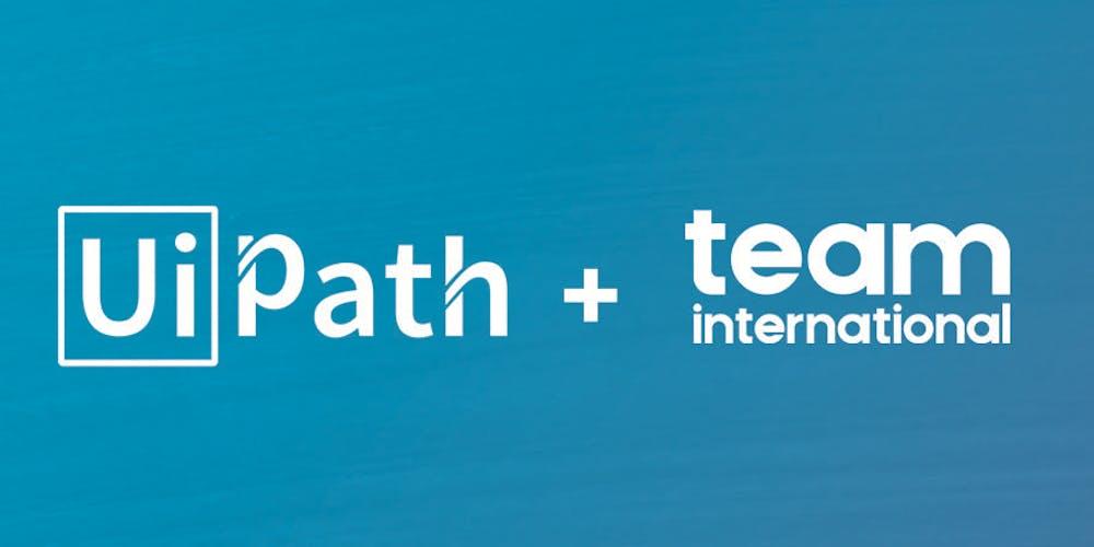 UiPath and TEAM Half Day Intelligent RPA Seminar