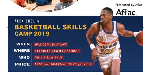 Alex English Basketball Camp 2019 Presented by Aflac