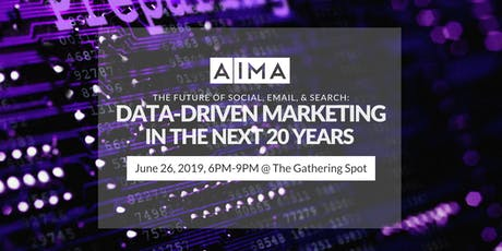 The Future of Social, Email & Search: What Data-Driven Marketing Looks Like the Next 20 Years tickets