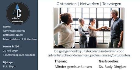 Add-On Community - Rotterdam en Omstreken - juni 2019 tickets