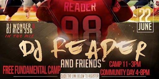 DJ Reader's Fundamental Camp & Community Day (Vendor Sign Up)