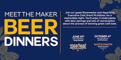 Meet the Maker Beer Dinner Series tickets