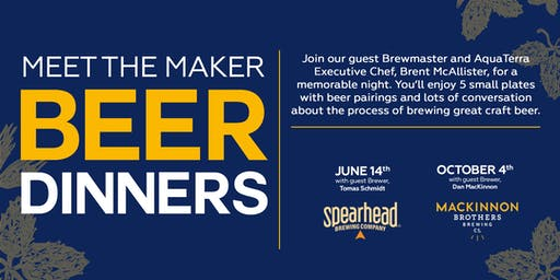 Meet the Maker Beer Dinner Series