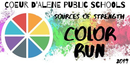 Coeur d'Alene Public Schools Color Run