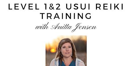 Level 1&2 Usui Reiki Training tickets