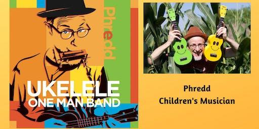 Phredd-Ukulele One Man Band