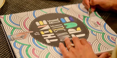 Cocktail & Color - Adult Coloring Event