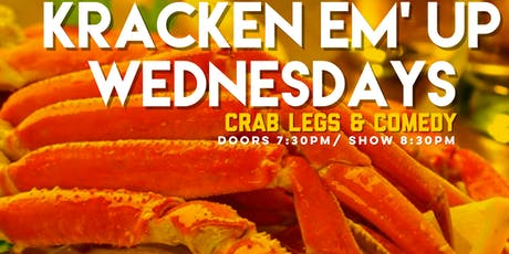 CRAB LEG DINNER & COMEDY SHOW tickets
