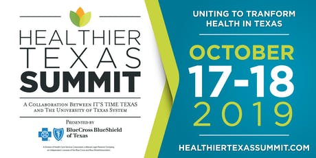 Healthier Texas Summit Sponsorship Opportunities tickets