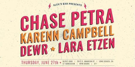 DEWR (San Francisco), Chase Petra, Karen Campbell, & Lara Etzen tickets