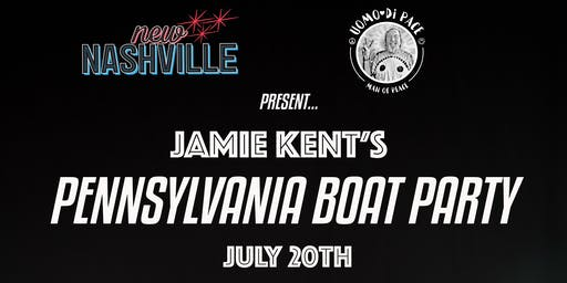 Jamie Kent's Pennsylvania Boat Party