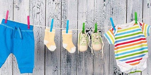 Summer Baby Clothing and Book Swap