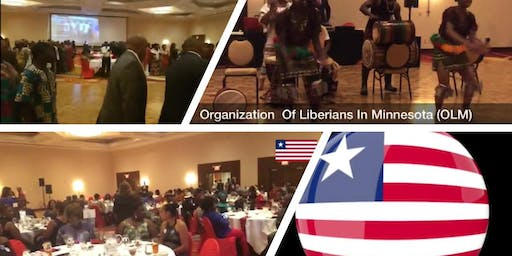 OLM - Liberia's 172nd Independence Day Dinner & Ball - Minnesota