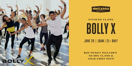 BollyX Fitness Class tickets