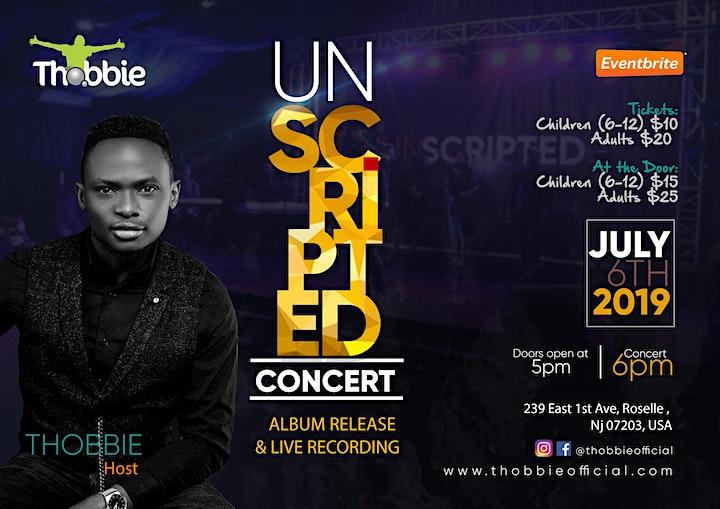 Unscripted Concert  2019 image