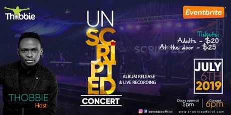 Unscripted Concert  2019 tickets