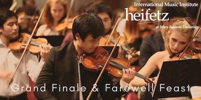 Heifetz Festival of Concerts: Celebrity Series | Grand Finale & Farewell Feast (08/09/19)