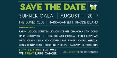 The 3rd Summer Gala of the Joan DeCotis Foundation tickets
