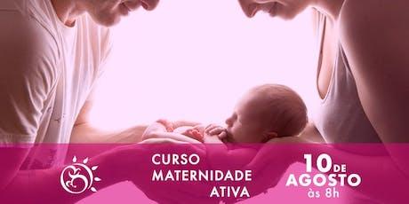 Curso Maternidade Ativa- Os primeiros cuidados com o bebê  ingressos