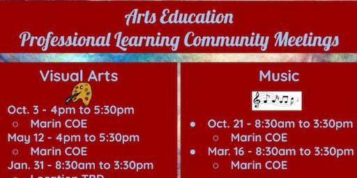 Arts Education - Professional Learning Community Meetings - Visual Arts