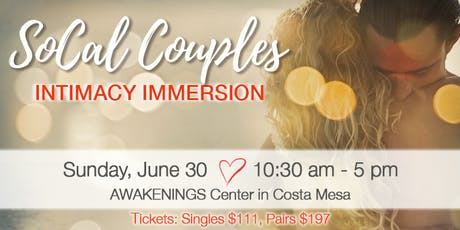 SoCal Couples Intimacy Immersion tickets