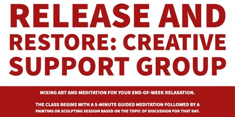 Release and Restore Creative Support Group Class tickets