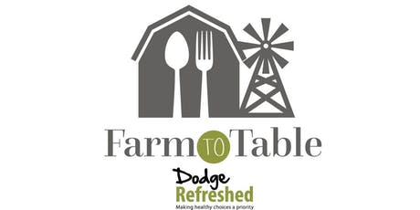Dodge Refreshed Farm-to-Table Community Dinner  tickets