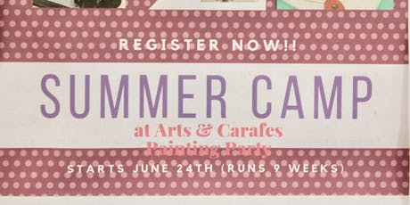 6th Week Summer Camp - Science and Space tickets