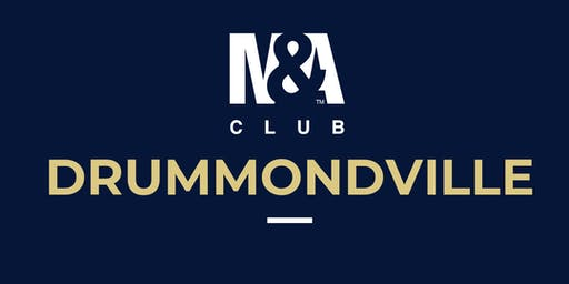 M&A Club Drummondville : Réunion du 28 août 2019 / Meeting August 28, 2019
