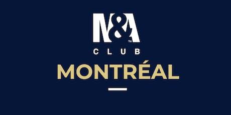 M&A Club Montréal : Réunion du 10 septembre 2019 / Meeting September 10th, 2019 billets