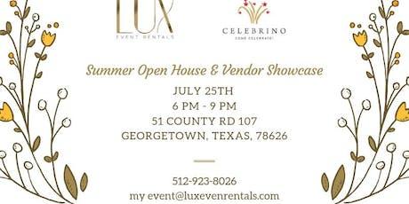 Summer Open House & Vendor Showcase tickets