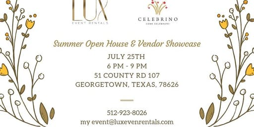 Summer Open House & Vendor Showcase