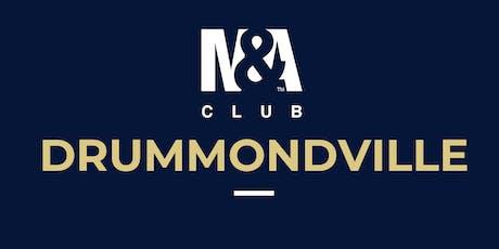 M&A Club Drummondville : Réunion du 25 septembre 2019 / Meeting September 25, 2019 billets