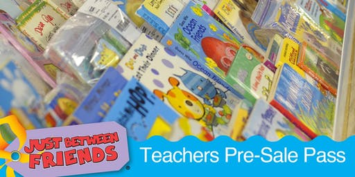 JBF The Woodlands & Conroe Fall into Savings 2019 Teacher Pre-Sale Pass