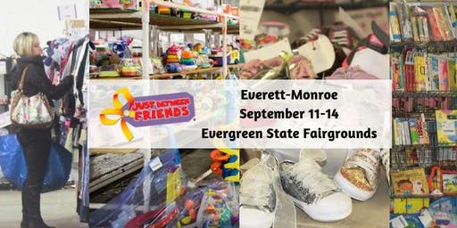 Just Between Friends Everett-Monroe Consignment Event Tickets, Fall 2019