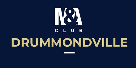 M&A Club Drummondville : Réunion du 30 octobre 2019 / Meeting October 30, 2019 billets