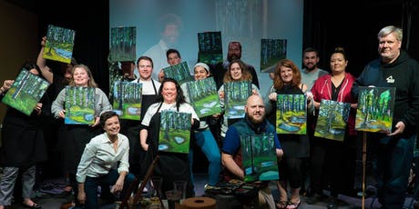 August Happy Trees Paint & Sip tickets