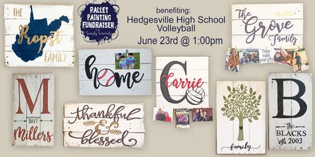 Vollapalooza Pallet Painting benefiting HHS Volleyball tickets
