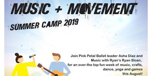 Music and Movement Summer Camp -ages 4-6