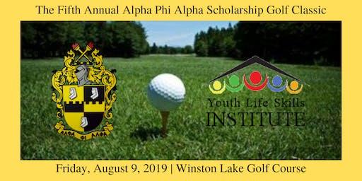 The Fifth Annual Alpha Phi Alpha Scholarship Golf Classic