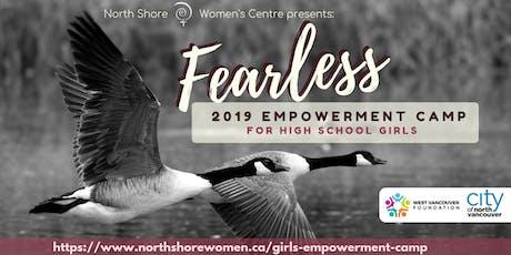 Fearless Girls' Empowerment Camp 2019 tickets