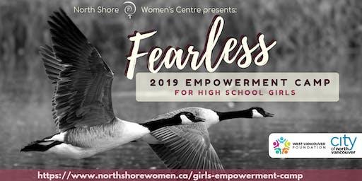 Fearless Girls' Empowerment Camp 2019