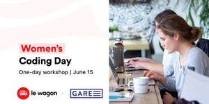 Women's Coding Day: hop on the coding express